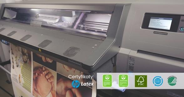 Druk na ploterach HP latex w jakości foto
